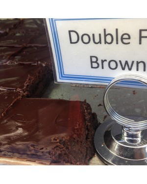 McHappy's Double Fudge Brownie